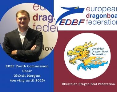 Представник федерації України з веслування на човнах «Дракон» очолив юніорську комісію EDBF